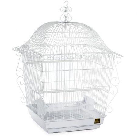 Prevue Prevue Scrollwork Bird Cage - White
