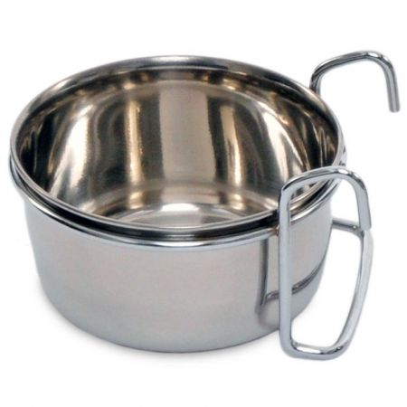 Prevue Prevue Stainless Steel Coop Cup with Hanger