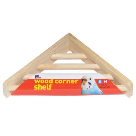 Prevue Prevue Wood Corner Shelf