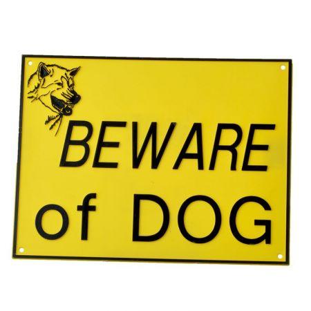 Doggie Dooley Ryter Beware of Dog Sign