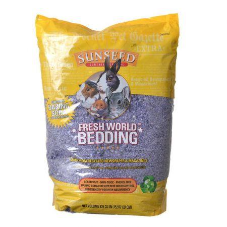 Vitakraft Sunseed Fresh World Small Pet Paper Bedding - Purple
