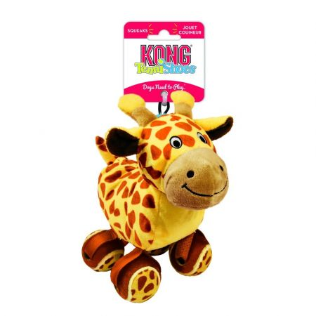 Kong Kong TenniShoes Dog Toy - Giraffe