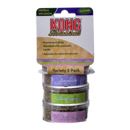 Kong Kong Botanicals Premium Catnip - Variety Pack