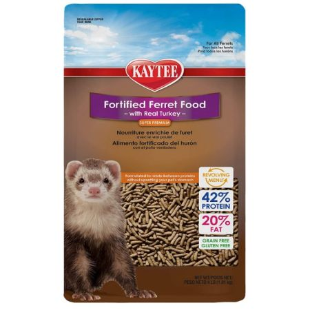 Kaytee Kaytee Fortified Ferret Diet with Real Turkey