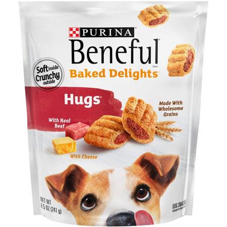 Purina Purina Beneful Baked Delights Hugs - Beef & Cheese