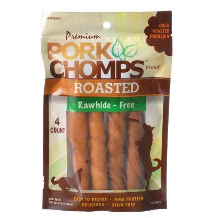 Scott Pet Premium Pork Chomps Roasted Porkhide Twists