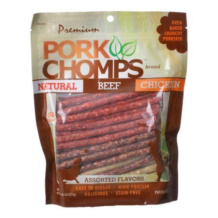 Scott Pet Premium Pork Chomps Assorted Munchy Sticks