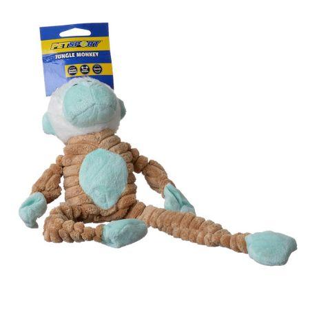 Petsport USA PetSport Tuff Squeak Jungle Monkey Toy