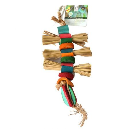 Hari Hari Rustic Treasures Grass Bundles Bird Toy