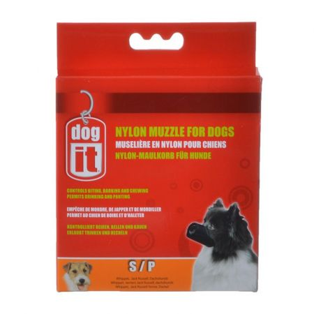 Dog It Dog It Nylon Muzzle for Dogs