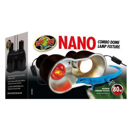 Zoo Med Zoo Med Nano Combo Dome Lamp Fixture