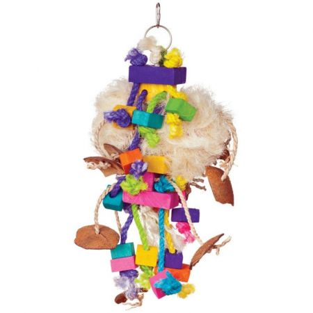 Prevue Prevue Bodacious Bites Tough Puff Bird Toy