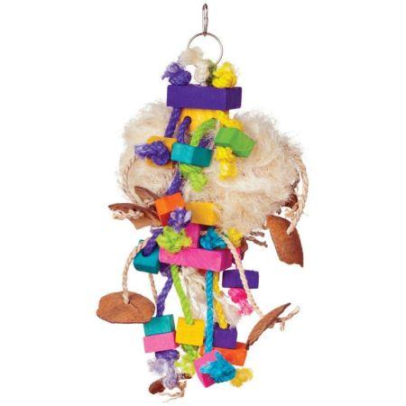 Prevue Prevue Bodacious Bites Tough Puff Bird Toy