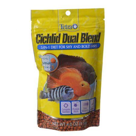 Tetra Tetra Cichlid Dual Blend Diet