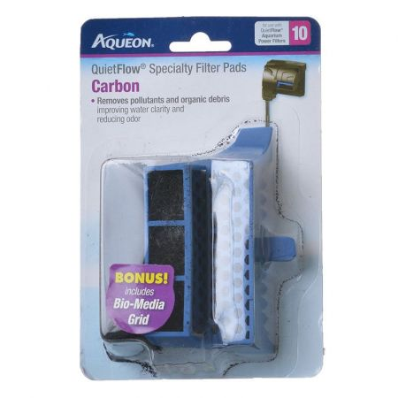 Aqueon Aqueon QuietFlow Specialty Filter Pads - Carbon