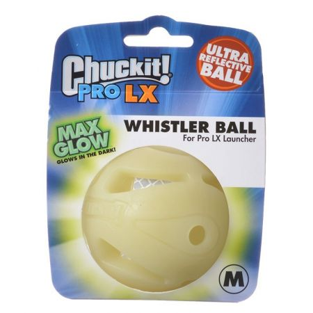 Chuckit! Chuckit Pro LX Max Glow Whistler Ball