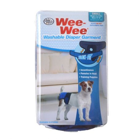 Four Paws Wee-Wee Washable Diaper Garment alternate view 1