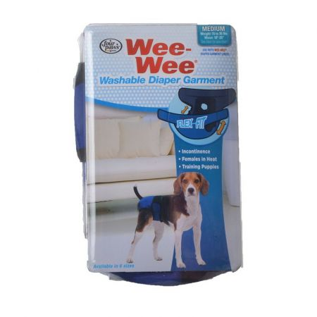 Four Paws Wee-Wee Washable Diaper Garment alternate view 2