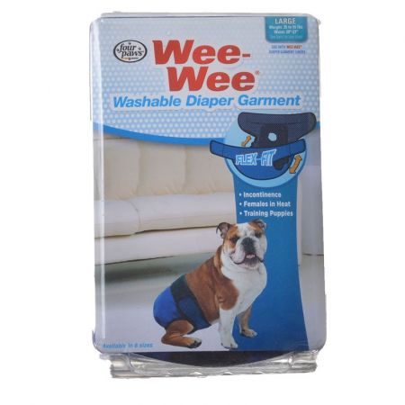 Four Paws Wee-Wee Washable Diaper Garment alternate view 3