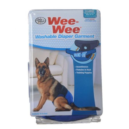 Four Paws Wee-Wee Washable Diaper Garment alternate view 4