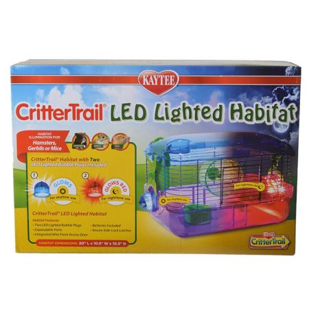 Kaytee Kaytee Crittertrail LED Lighted Habitat