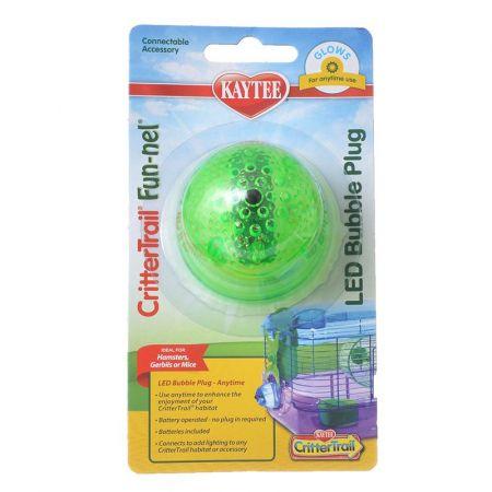 Kaytee Kaytee Crittertrail LED Bubble Plug - Anytime