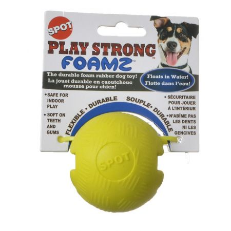 Spot Spot Play Strong Foamz Dog Toy - Ball