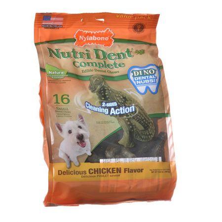 Nylabone Nylabone Nutri Dent Complete Edible Dental Chews - T-Rex