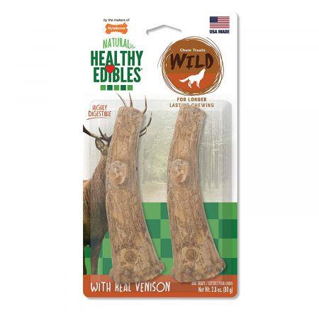 Nylabone Nylabone Healthy Edibles Wild Antler Chews - Venison
