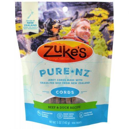 Zukes Zukes PureNZ Cords Dog Treats - Beef & Duck