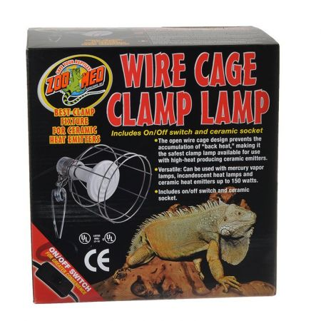 Zoo Med Zoo Med Wire Cage Clamp Lamp