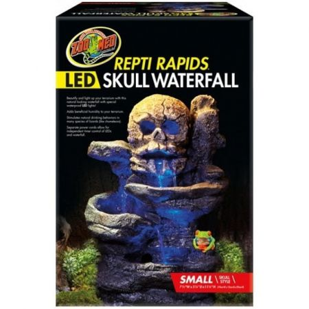 Zoo Med Zoo Med Repti Rapids LED Skull Waterfall