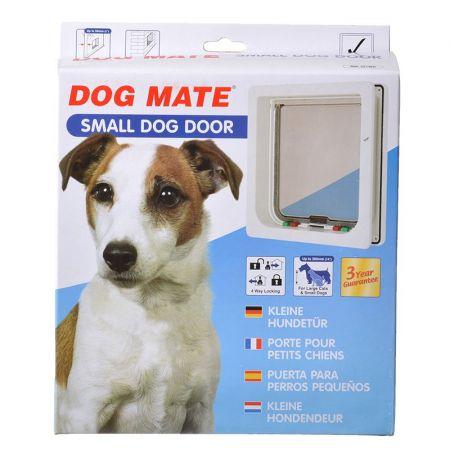 Dog Mate Dog Mate Multi Insulation Dog Door - White