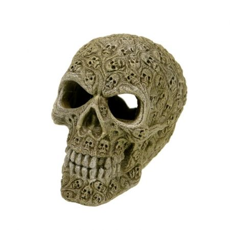 Blue Ribbon Pet Products Exotic Environments Haunted Skull Aquarium Ornament