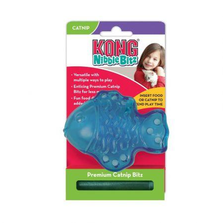 Kong Kong Nibble Bitz Fish Cat Toy