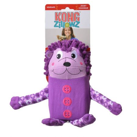 Kong Kong Zillowz Hedgehog Dog Toy