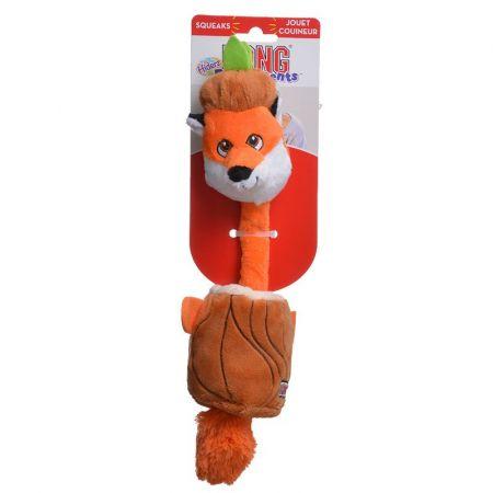Kong Kong Puzzlements Hiderz Dog Toy - Fox