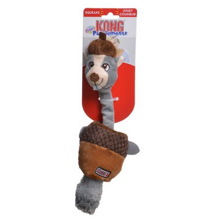 Kong Kong Puzzlements Hiderz Dog Toy - Squirrel