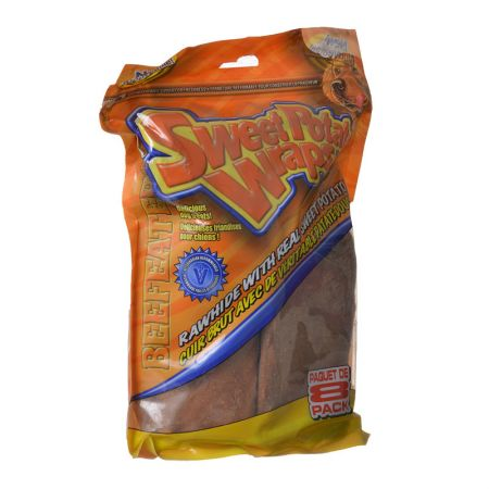 Beefeaters Beefeaters Sweet Potato Wraps Chewritto Dog Treats