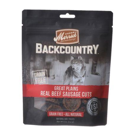 Merrick Merrick Backcountry Great Plains Real Beef Sausage Cuts