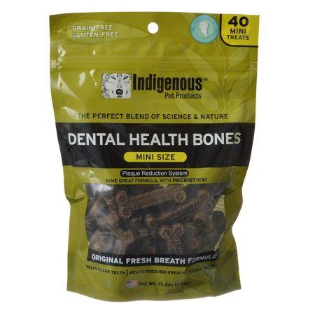 Indigenous Pet Products Indigenous Dental Health Bones - Original Fresh Breath Formula
