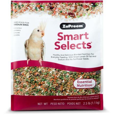 ZuPreem ZuPreem Smart Selects Bird Food for Medium Birds