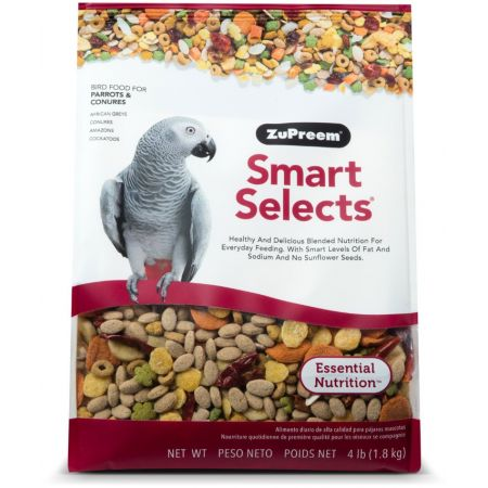 ZuPreem ZuPreem Smart Selects Bird Food for Parrots & Conures