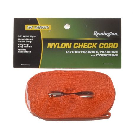 Remington Remington Nylon Dog Check Cord - Safety Orange