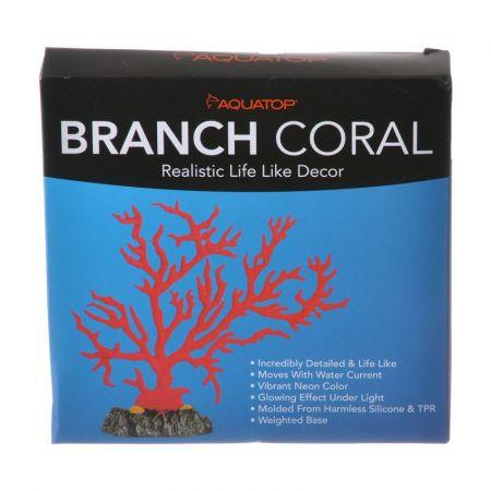 Aquatop Aquatop Branch Coral Aquarium Ornament - Red