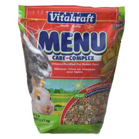 Vitakraft Menu Care Complex Rabbit Food alternate view 1