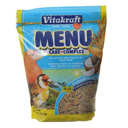 Vitakraft Vitakraft Menu Care Complex Canary & Finch Food