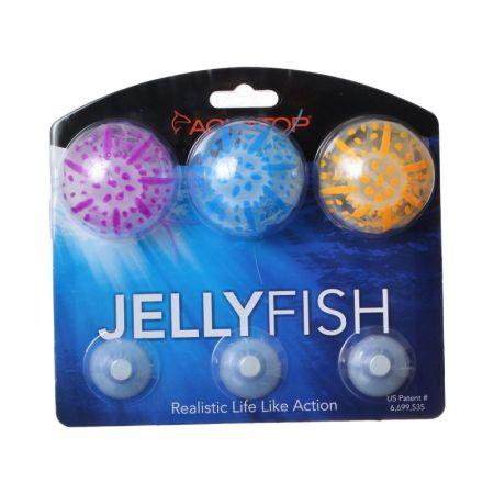 Aquatop Aquatop Silicone Jellyfish Aquarium Ornament - Assorted Colors