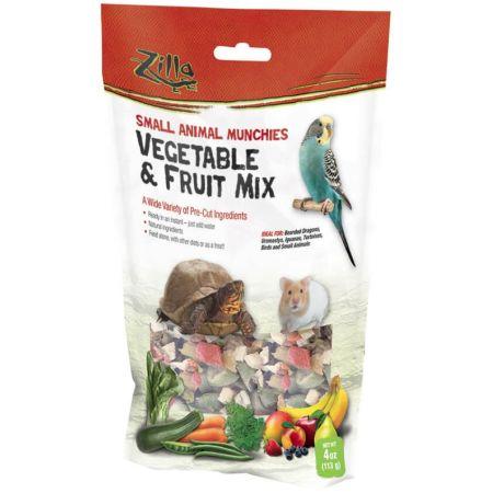 Zilla Zilla Small Animal Munchies - Vegetable & Fruit Mix