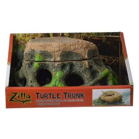 Zilla Zilla Freestanding Floating Basking Platform - Turtle Trunk